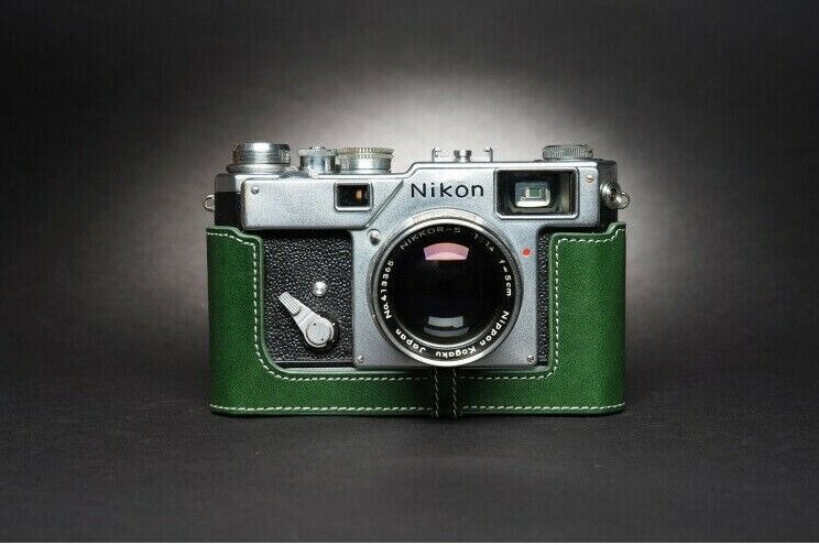Leather Half Case for Nikon S3 (choice of colours) - BRAND NEW