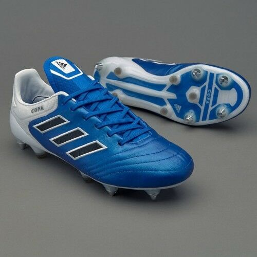 BNWB Adidas Copa 17.1 SG Leather Football Boots 8 RRP  bluee World Cup