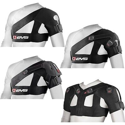 Adult Large LG L Black EVS Sports SB02 SB-02 Shoulder Support Brace