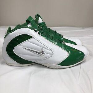 Details about VTG 2004 Nike Air Zoom Adrenaline OG Basketball Shoes Green Men's 12 Flight