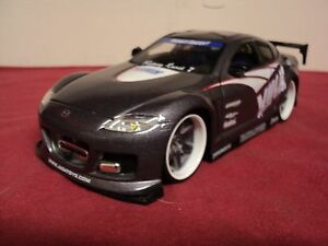 Jada-Mazda-RX8-1-24-scale-Import-Racer-NO-LONGER-MADE-Rare-Volk-GRAPHICS