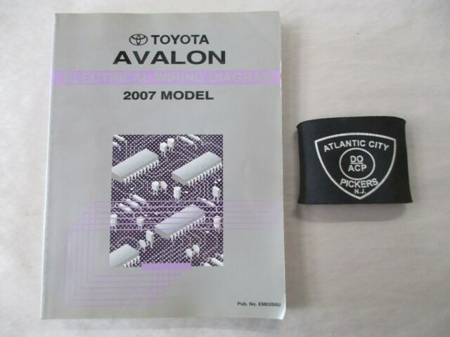2007 Toyota Avalon Electrical Wiring Diagram Manual