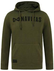 All Sizes Carp Fishing Clothing New Navitas Apparel Core Range Hoody Green
