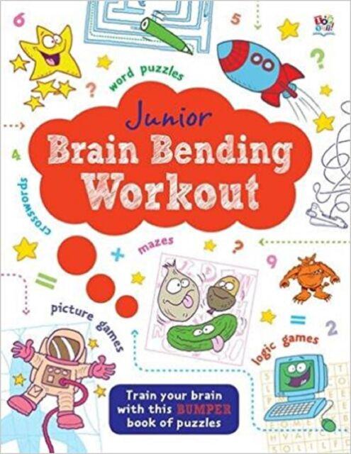 Junior Brain Bending Puzzle Book (Junior Puzzle Book)