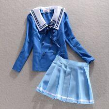 Beyond the Boundary Kuriyama Mirai Shindou Ayi Cosplay Costume UK