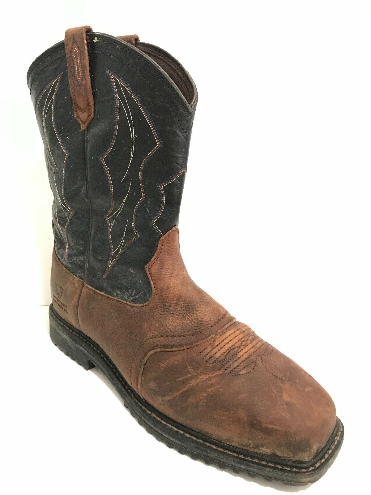 Men's Ariat 10012932 RigTek Wide Square Toe Waterproof, Composite Toe Size 14 EE