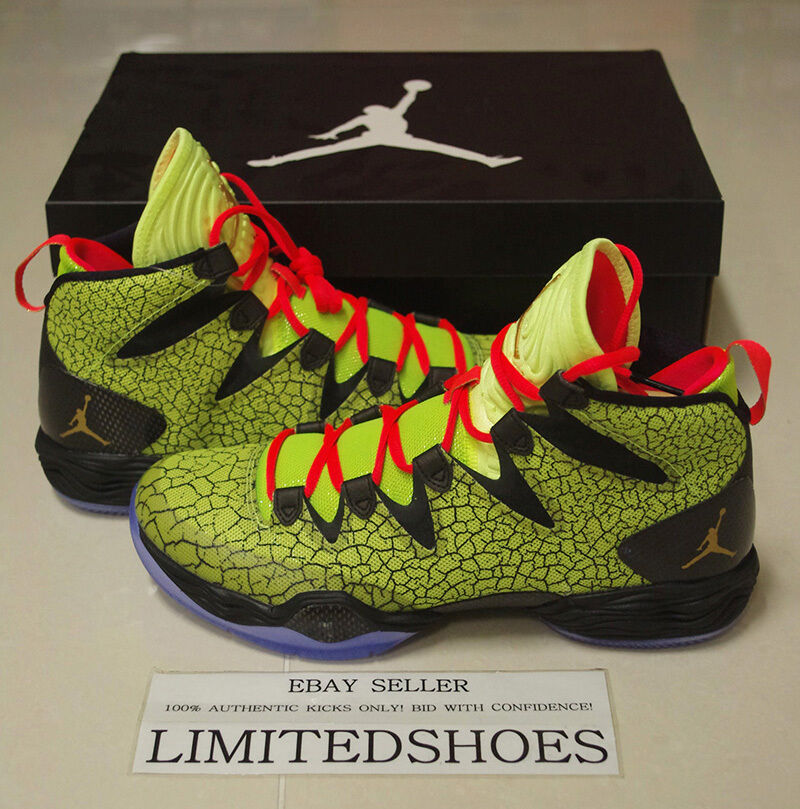 NIKE AIR JORDAN 28 XX8 SE ALL STAR VOLT 656249-723 quai 54 xx9 hare photo xxxi