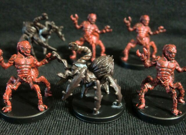 Dungeons & Dragons Miniatures Lot -  Formian Warrior & Neogi Slaver !!  s68