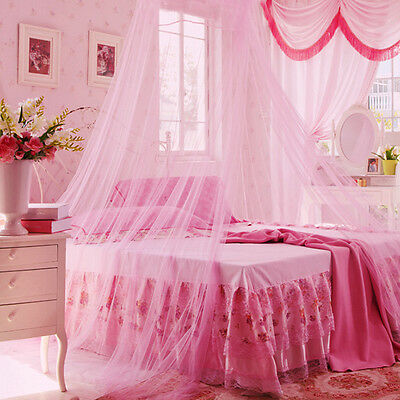New Round Lace Curtain Dome Bed Canopy Netting Princess Mosquito Net