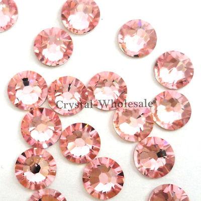 Light Rose (223) Swarovski 2058 8ss Crystal Flatbacks Rhinestones pink 2.4mm ss8
