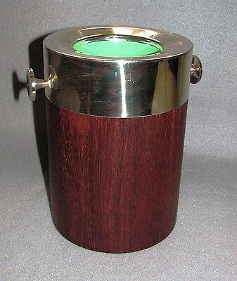 Einfach Bruckmann Flaschenkühler; Versilberte Montierung Teakholz Freigabepreis Bar & Wein-accessoires