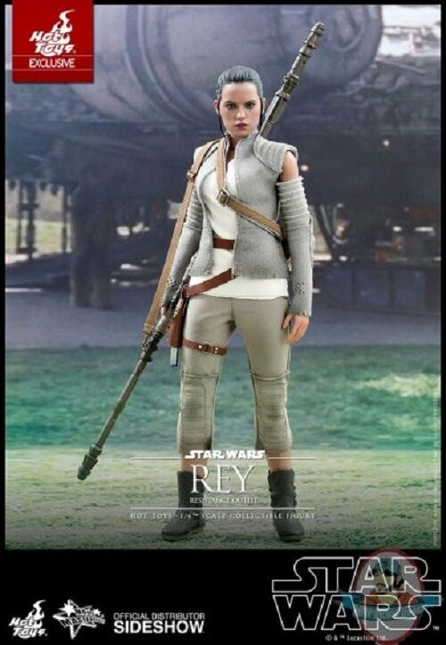 1 6 Star Wars Rey Resistance Outfit Movie Masterpiece Series Hot Toys