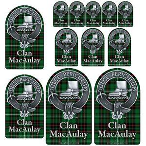 MACLEOD of LEWIS CLAN CREST vinyl sticker Truck Car PC Scottish Heraldry