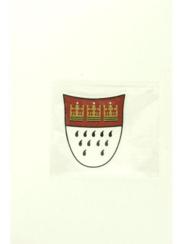 Kölle-Sticker groß Textil Karneval Accessoire Fasching