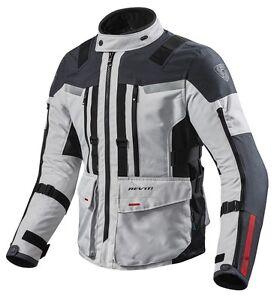FidèLe Giacca Jacket Moto Rev'it Revit Sand 3 Tre Strati Silver Ant Impermeabile H2o L