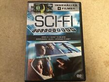 * NEW DVD Film * SCI-FI COLLECTION * 4 FILMS * ALIEN, ABYSS, X-FILES, PLANETAPES