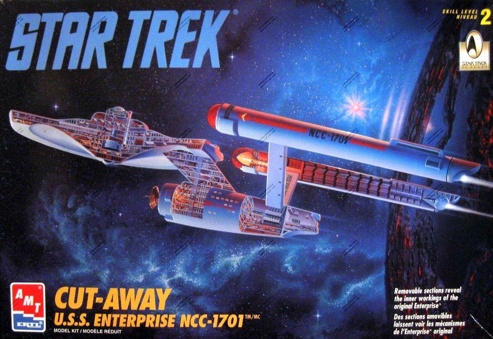 AMT ERTL 1995 Star Trek Cut-Away U.S.S. Enterprise NCC-1701 Original Model