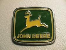 JOHN DEERE FARM TRACTOR AGRICULTURE FARMING FARMER MENS METAL BELT BUCKLE NICE