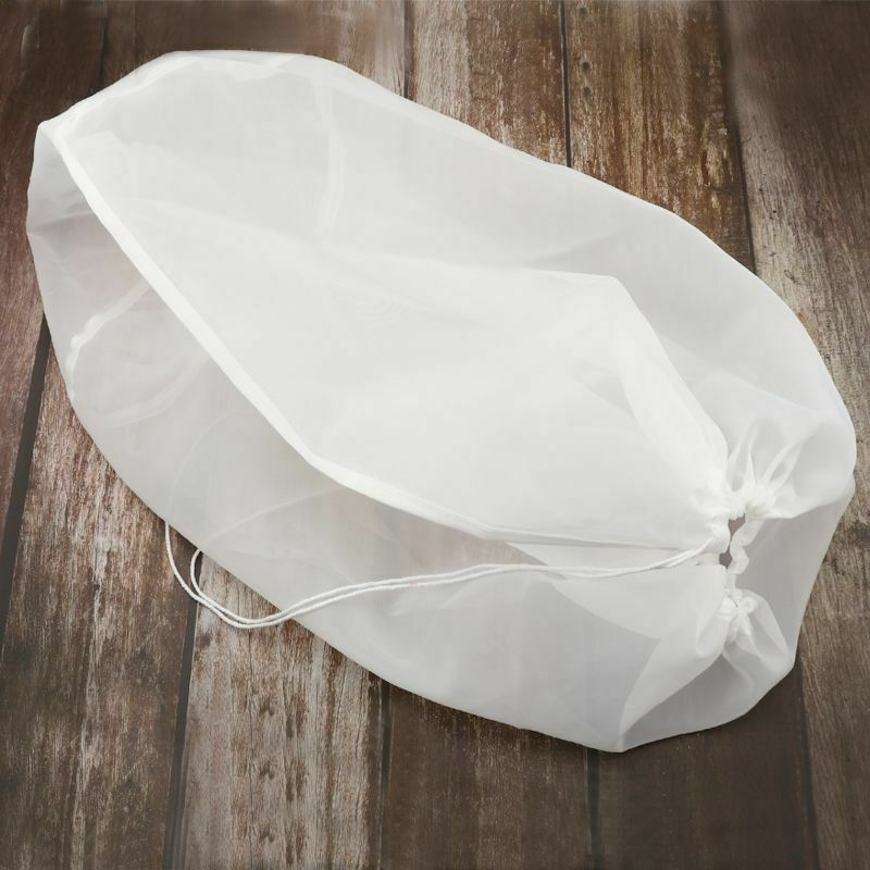 Brewing Filter Bags Reusable Nylon Mesh Beer Wine Making Home Brew Bucket Bags
