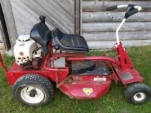 1981 Snapper Hi Vac Riding Lawn Mower Tecumseh Engine Runs