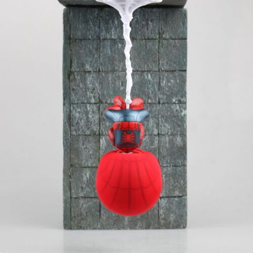 NEW Red Spide rman Upside Down Spiderman Bobble Head action Figure Car Accessory
