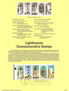 1990-USPS-Stamp-Souvenir-Pages-24-Year-Set-Complete