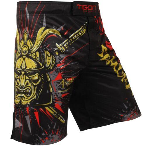 MMA Shorts Fighting UFC Short Grappling Short Kick Boxing Muay Thai Cage Samurai