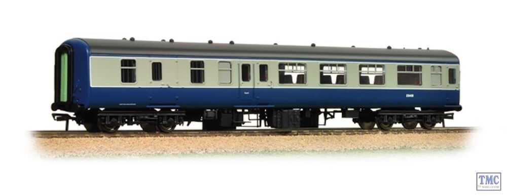 39-380A Bachmann OO HO Gauge BR Mk2A BSO Brake Second Open bluee & Grey