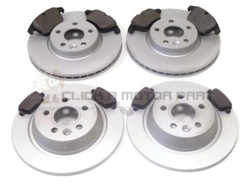 CHECK SIZE FORD MONDEO MK4 2007-2015 HATCHBACK FRONT /& REAR BRAKE DISCS /& PADS