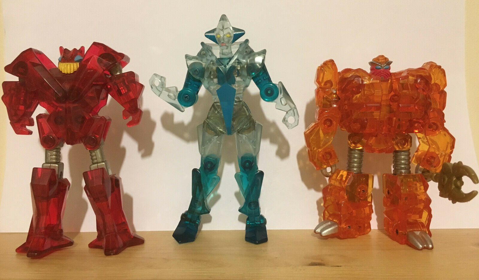 Vintage Rock Lords All 3 Jewel Lords Sunstone Flamestone & Solitare Released