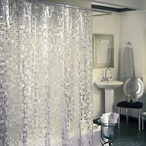 Vinyl Disco Shower Curtain 70x72 Bath Decor 7 Guage Modern 70s Retro