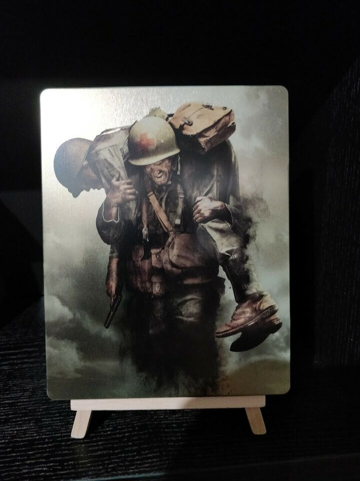 Hacksaw Ridge Steelbook, Blu-ray, action