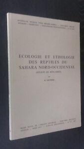 Ecologia-y-Etologia-Reptiles-Sahara-Nor-Occidental-R-Gauthier-1967-N-155-Be