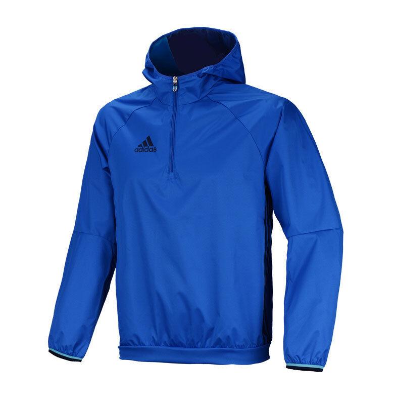 Adidas Condivo 16 Windbreaker AB3137 Wind Prood Breaker blauw Top Shirt Jasje
