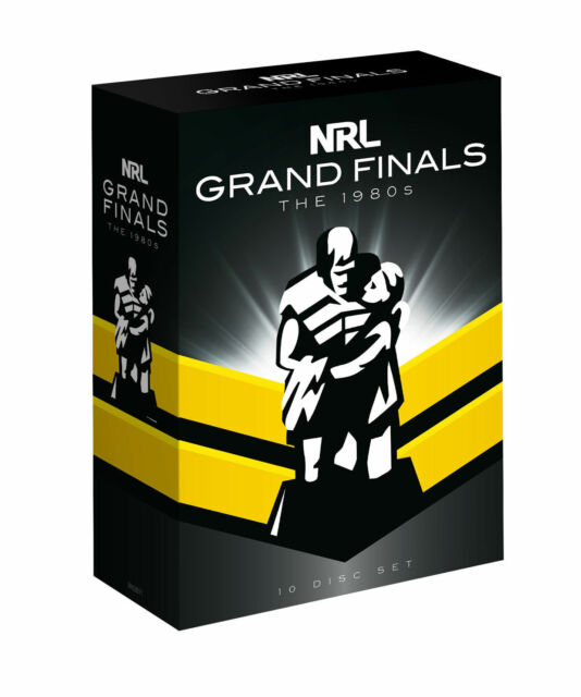 NRL -The Grand Finals Collection -The 1980's (DVD) - R4