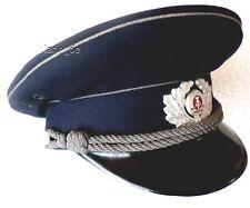 DDR Uniform Mütze Gefängnis Polizei Offizier East german Prison Police visor hat
