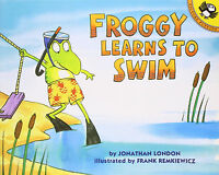 Froggy Series : Froggy Learns To Swim (pb) Johathan London