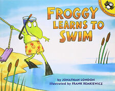 Froggy: Froggy Learns to Swim by Jonathan London (1997, Paperback)