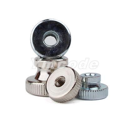M3 M4 M5 M6 M8 M10 Nickle Zinc Plated Carbon Steel Knurled Thumb Nuts Metric
