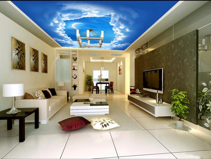 3D Der Mond Leiter Wolke 53 Fototapeten Wandbild Fototapete BildTapete DE Lemon