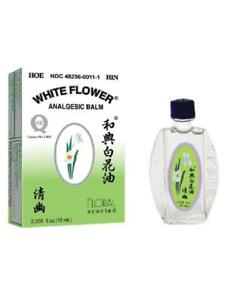 White flower analgesic balm floral scented 034 oz 10ml ebay image is loading white flower analgesic balm floral scented 0 34 mightylinksfo