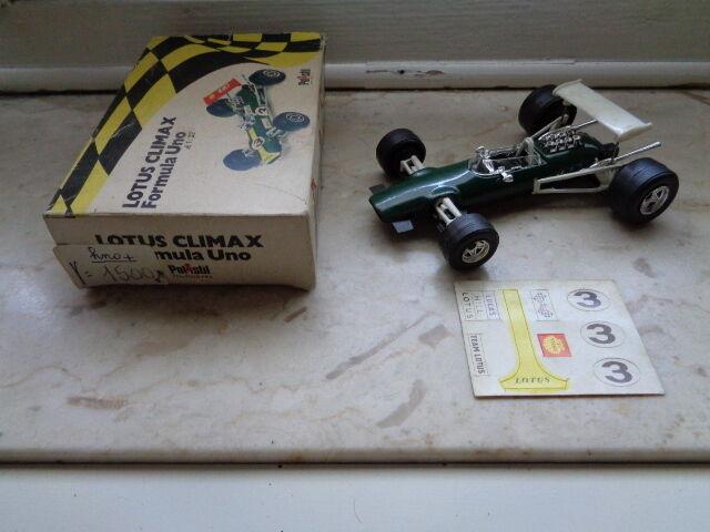 Modellino Lotus Climax Formula Formula Formula Uno della Polistil scala 1 32 made in  29f7b4
