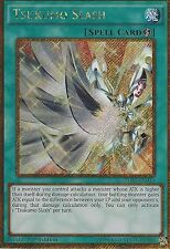 YU-GI-OH CARD: TSUKUMO SLASH - GOLD SECRET RARE - PGL3-EN013 - 1ST ED