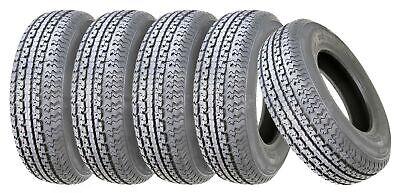 8PR Load Range D Steel Belted 4 New Premium DURUN Trailer Tires ST 205 75R15