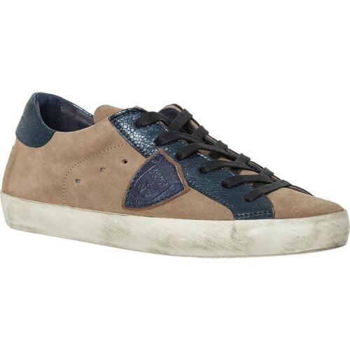 Sneakers Philippe Model marrone donna 4 Donna' firmate 'bassa pelle Uk da in r6TrY4f