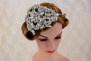Details about Rhinestone Hair Headband Wedding Accessories Crystal Bridal  Headpiece 1 Piece c3a8250f223