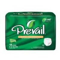 Prevail Adult Underwear Extra Absorbent Diapers Large 44-58 18 Packs