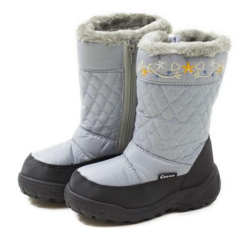 Jugendliche 22-35 Gr Snowboots für Kinder u Schneestiefel Winter Schuhe
