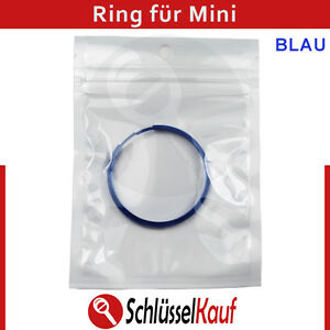 mini schl ssel ring blau fernbedienung geh use. Black Bedroom Furniture Sets. Home Design Ideas