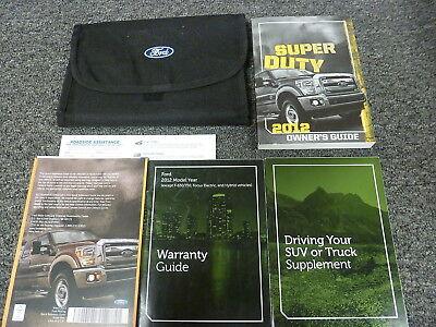 ford  super duty truck owner manual xl xlt lariat